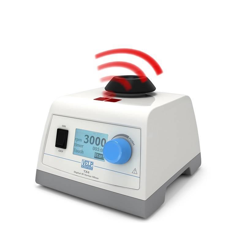 Digital Vortex Mixer with IR Sensor - A VELP Patented Solution