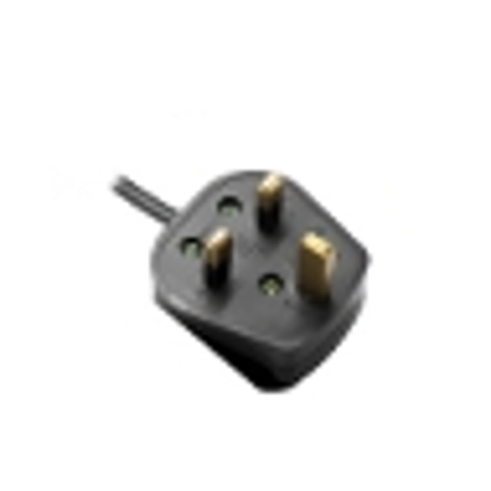 Power supply cord, UK plug